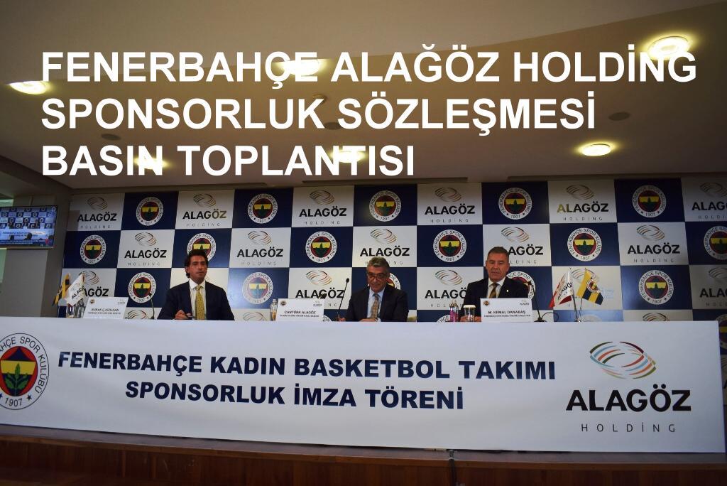 Alagöz Holding Fenerbahçe kadın Basketbol Sponsoru